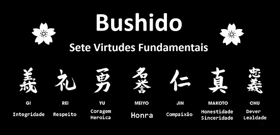 As virtudes do Bushido