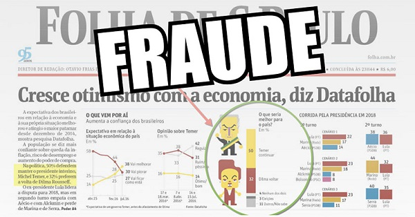 Fraude Datafolha