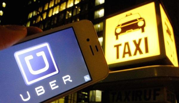 Uber x Táxi
