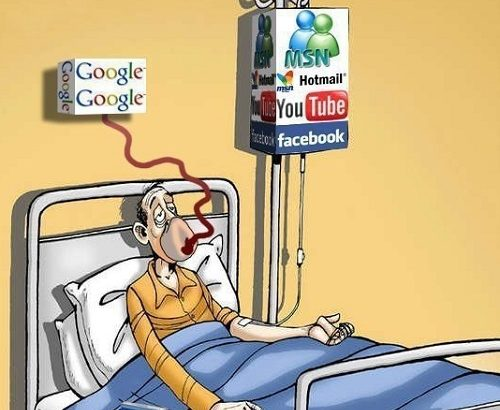 Dependencia da Internet