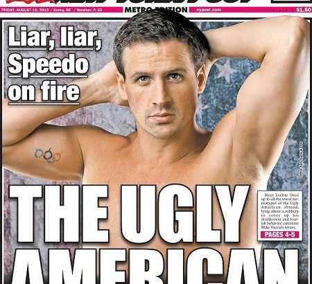 Lochte The Ugly American