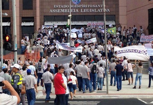 Trabalhadores da Samarco