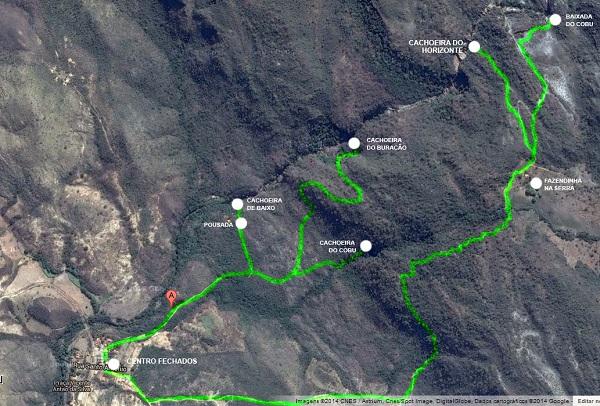 Fechados - Mapa