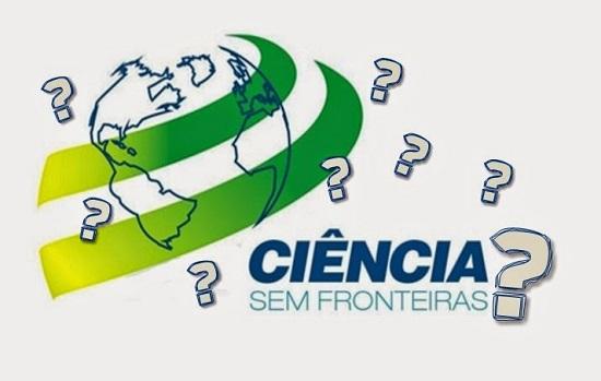 Ciência sem Fronteiras ?