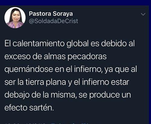 Pastora Soraya - Terra Plana