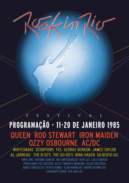 Poster - Rock in Rio 1985