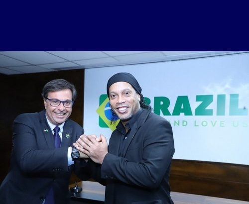 Embaixadores do Turismo - Ronaldinho Gaúcho