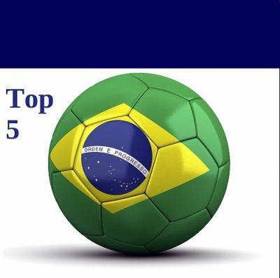 Futebol no Brasil - Top 5
