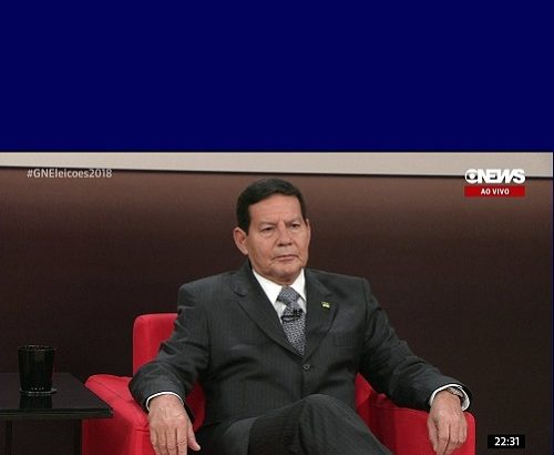 General mourão - Rep Globo News