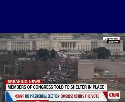Sedição - Trump - EUA - CNN