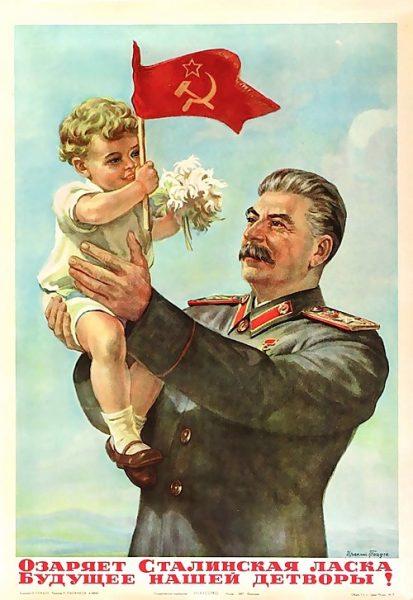 Comunista - Pôster 1947 - Reprodução Expresso.PT