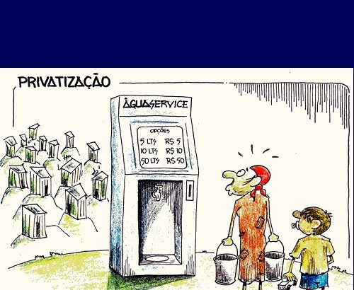 Copasa - Privatização - Donga