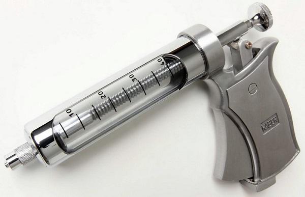 Pistola de Vacina