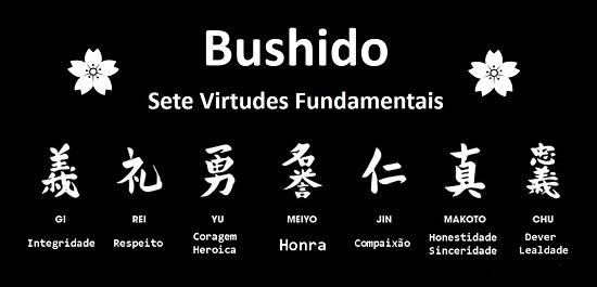 As virtudes do Bushido