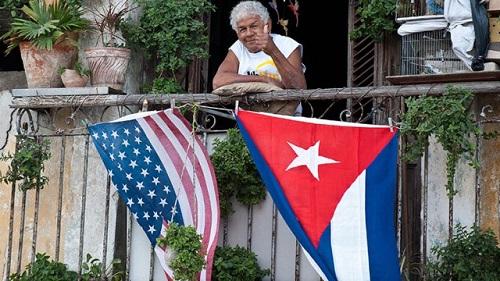 Cuba - EUA - hasta La Victoria