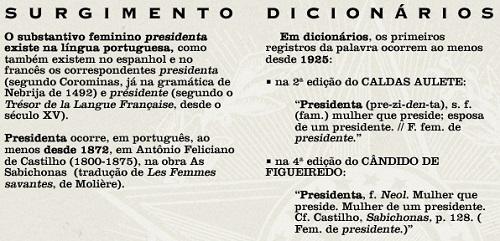 Presidenta e as antas