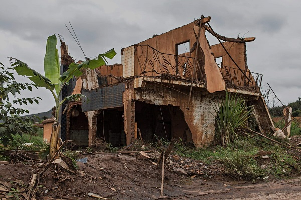 Casa Destruída - Bento Rodrigues