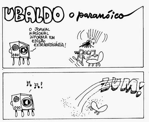 Meigas, Brujas e Ubaldo, O paranoico.