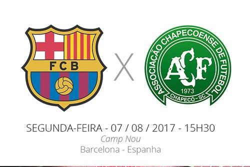 Futebol Magia - Joan Gamper -Barça x Chape
