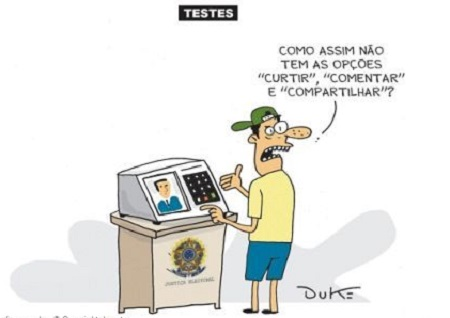 Urna Eletrônica - Um Escândalo