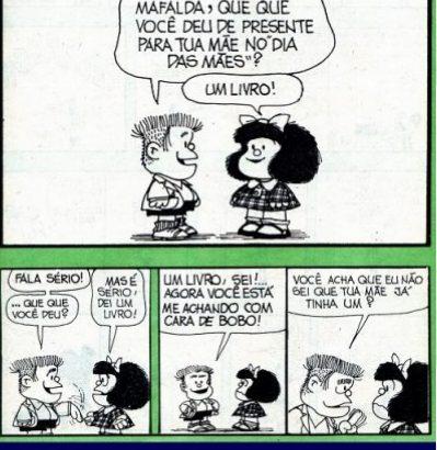 Frases Imortais - Mafalda