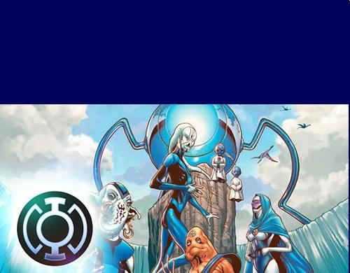 Lanterna Azul - DC Comics