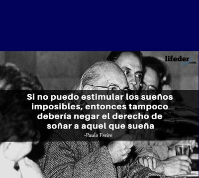 Nunca me sonharam - Paulo Freire